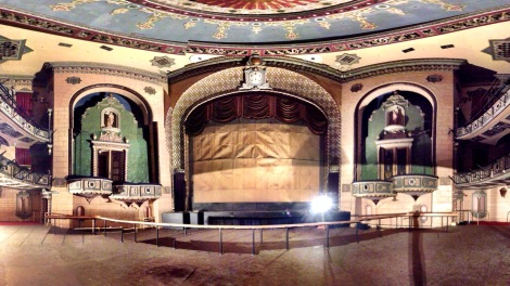Photo-Stitched image of the Main House, The St James Theatre, Auckland, Henslowe Irving Ltd
